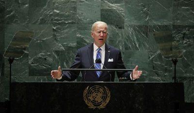 """Asamblea de la ONU: Biden define la tensión de EEUU con China como una """"competición vigorosa"""""""