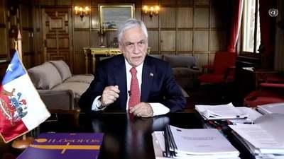 """Piñera dice que Chile impulsa un tratado sobre """"preparación y esfuerzos para futuras pandemias"""""""