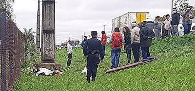 Roban motocicleta y la billetera de chofer que falleció en un accidente en Ypané