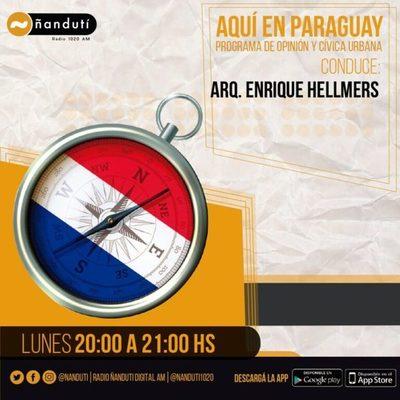 Aquí en Paraguay con Enrique Hellmers