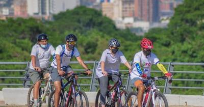 """Pedalearán por Asunción para conmemorar el """"Día Mundial Sin Auto"""""""
