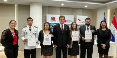 Paraguayos fueron becados para estudiar en Taiwán