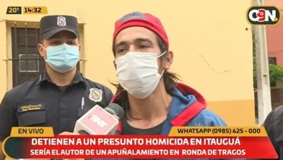 Detenido asegura que asesinó a su vecino al defenderse de ataque