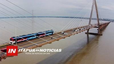 INTENDENTE MUNICIPAL CELEBRA ANUNCIO DE APERTURA PROCESUAL DE LA FRONTERA ARGENTINA.