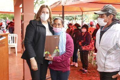 INDERT entregará otros 110 títulos en emblemática colonia Manduará, de Canindeyú