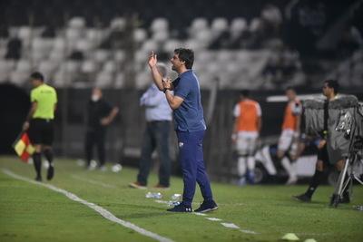 López resaltó virtudes del Albo para vencer a Olimpia