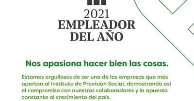 La Nación / Farmacenter fue reconocida como empleadora del 2021