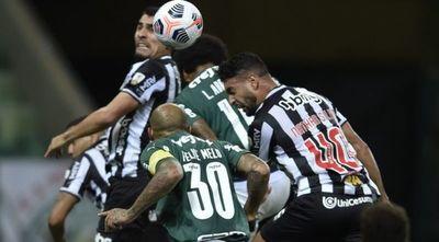 Empate entre Palmeiras y Mineiro en la primera semifinal