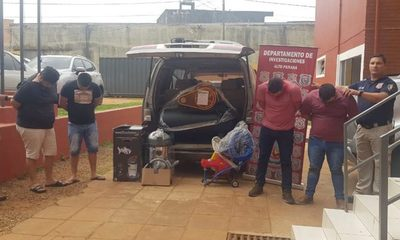 Caen detenidos cuatro timadores que ofrecían mercaderías adquiridas con un cheque robado – Diario TNPRESS