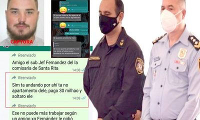 Subjefe de comisaría 18ª de Santa Rita libera por G. 30 millones a presunto criminal con orden de captura – Diario TNPRESS