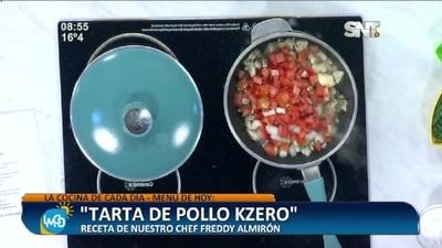 Cocina LMCD: Tarta de pollo Kzero