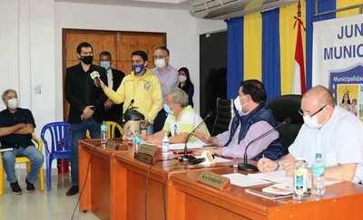 Junta otorga en usufructo inmueble municipal al S. Luqueño para el CAR •