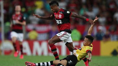 Flamengo recibe a Barcelona por la ida de las semifinales