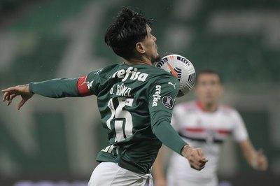 Gómez, el tercer extranjero con más partidos en la historia del Palmeiras
