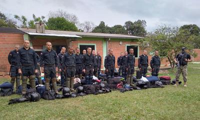 Coronel Oviedo: Entregan uniformes operativos a próximos egresados de GEO
