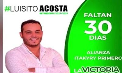 Investigan asesinato de candidato a concejal de Itakyry