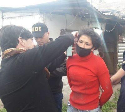 Paraguaya detenida por prender fuego a madre y bebé en el partido de La Matanza