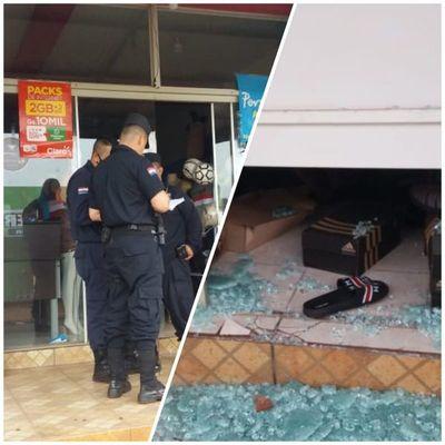 Por tercera vez roban una tienda en barrio Obrero