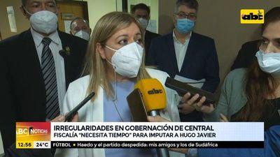 Fiscalía necesita tiempo para imputar a Hugo Javier, según Sandra Quiñónez