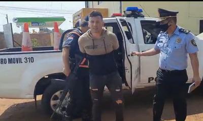 """Detienen a """"Paraguayito Alegre"""" tras manifestación en Caaguazú"""