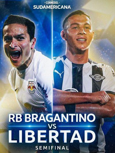 Sudamericana: Libertad visita al Bragantino de Brasil desde las 18:15 en la ida de las semifinales