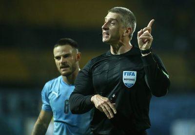 Anderson Daronco, el árbitro de Paraguay-Argentina