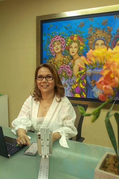 Empresaria Lourdes Careaga Meaurio apuesta por transporte terrestre como opción para exportadores