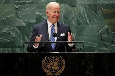 """""""No buscamos una nueva Guerra Fría"""", dice Joe Biden ante la Asamblea de la ONU"""