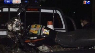 Motociclista perdió la vida tras impactar contra una columna
