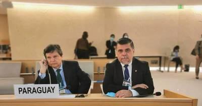 La Nación / Paraguay confirmó en Suiza su interés de integrar la Comisión de DDHH de la ONU