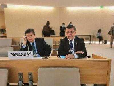 Paraguay postula su candidatura al Consejo de DD.HH en visita oficial a Ginebra