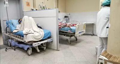 Camas de urgencias polivalentes del Hospital de Clínicas ocupadas al 100%