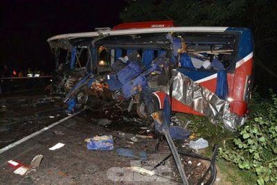 Trágico accidente en Pedrozo: seis fallecidos