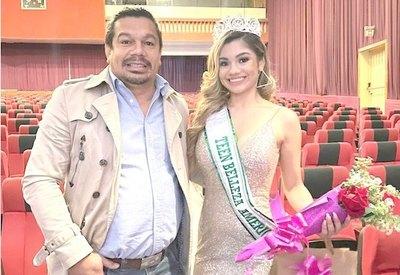 """Crónica / Y SOLO, 17 PIRULOS. Hija de """"Tyson"""" Caballero se volvió Miss"""