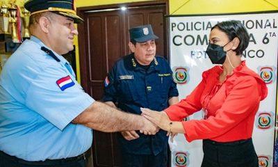 Realizan cambios en dependencias policiales de Alto Paraná