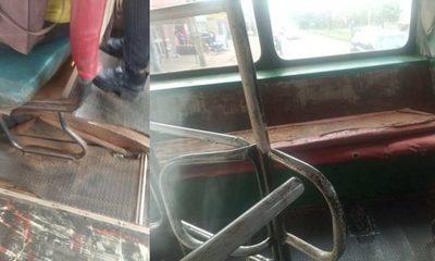 En deplorable estado: Buses interurbanos cobran ilegalmente Gs. 4.000