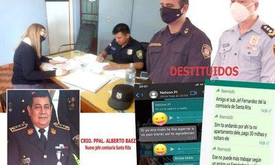 Separan del cargo a jefe y subjefe de la comisaría 18ª de Santa Rita tras denuncia de TNPRESS – Diario TNPRESS