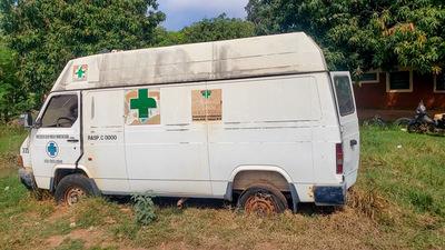 Hospitales del departamento de Concepción están sin ambulancias