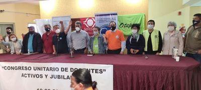 No hubo diálogo y unos 70.000 docentes van a huelga desde el viernes 1 de octubre