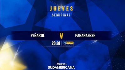Peñarol y Paranaense, por la otra semi de la Suda
