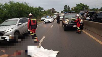 Terrible: Conductor de una camioneta entró de contramano y mató a motociclista