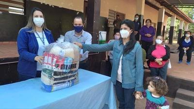Kits de alimentos llegaron al distrito de Yhú