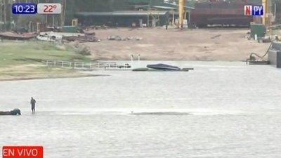 Un crítico río Paraguay llega a la cota