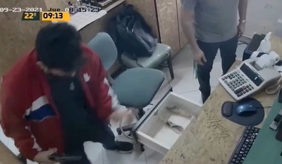 Asaltantes se llevan bolsa de dinero de local de Fundación Paraguaya