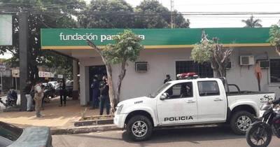 La Nación / Asaltan local de la Fundación Paraguaya en Luque