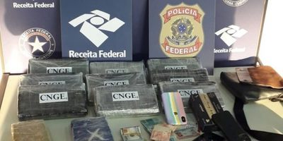 Incautan cocaína de un fondo falso en vehículo paraguayo en Foz de Yguazú