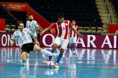 Hasta aquí llegó: Paraguay es goleado por Argentina y quedó fuera del Mundial de Futsal