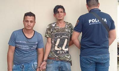 Tras asalto detienen a dos personas en Caaguazú