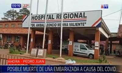 Embarazada fallece por Covid-19 en Pedro Juan Caballero