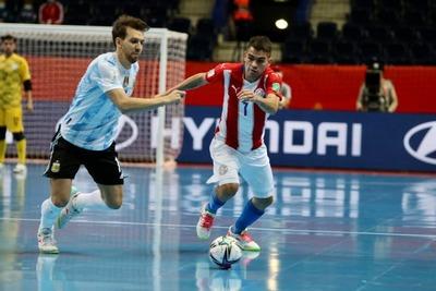 Paraguay cae ante Argentina y se despide del Mundial